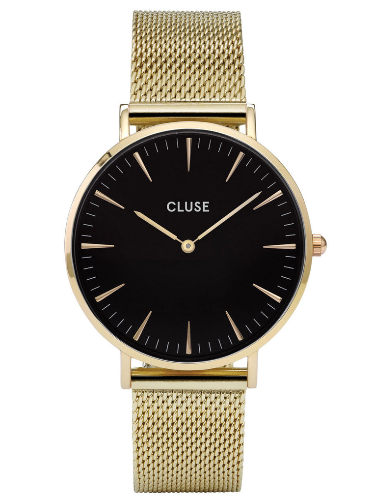 Cluse LA Boheme Ladies PVD Gold Plated Watch - CL18110