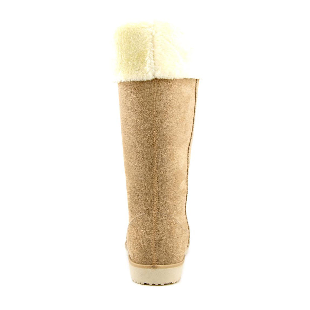 Electric Karma Dakota 3707 Tan  Women Round Toe Synthetic Winter Boot