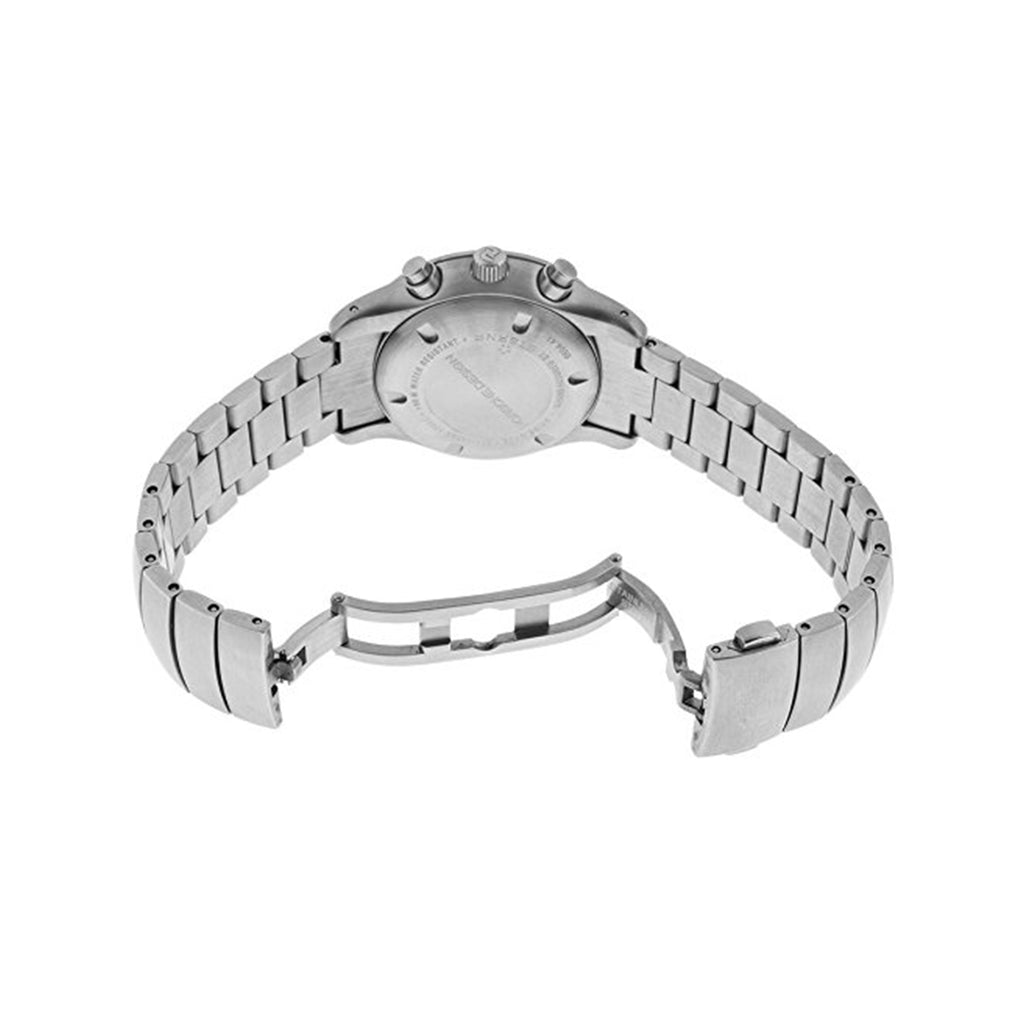 Porsche Design 6604-41-10-0255 Women's 34mm Steel Bracelet & Case Swiss Quartz White Dial Watch