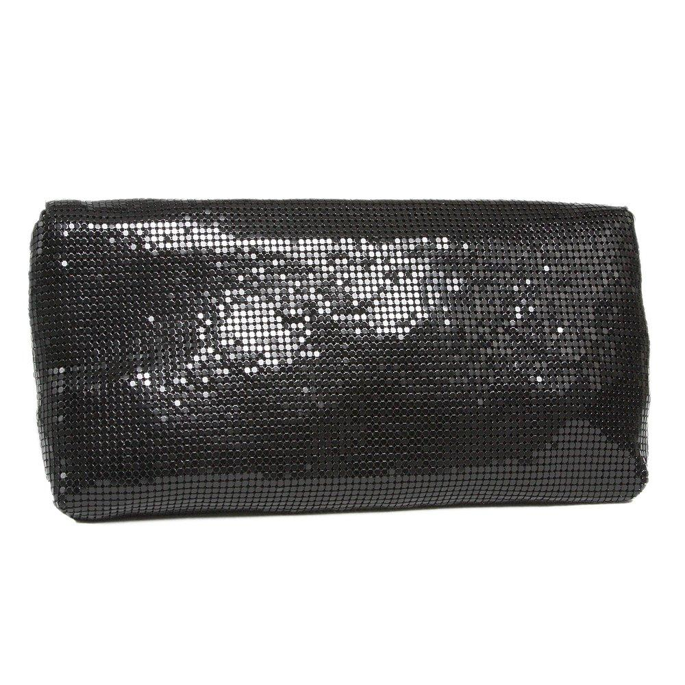 Sparkly Evening Clutch Bag With A Magnetic Stud Fastening