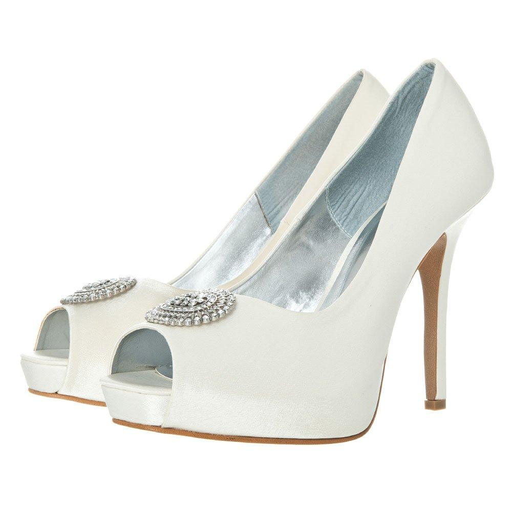PLATFORM DIAMANTE COURTSHOE