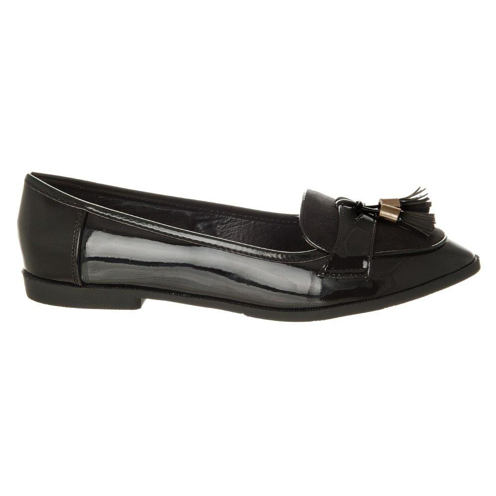 Flat Tasseled Loafer shoe