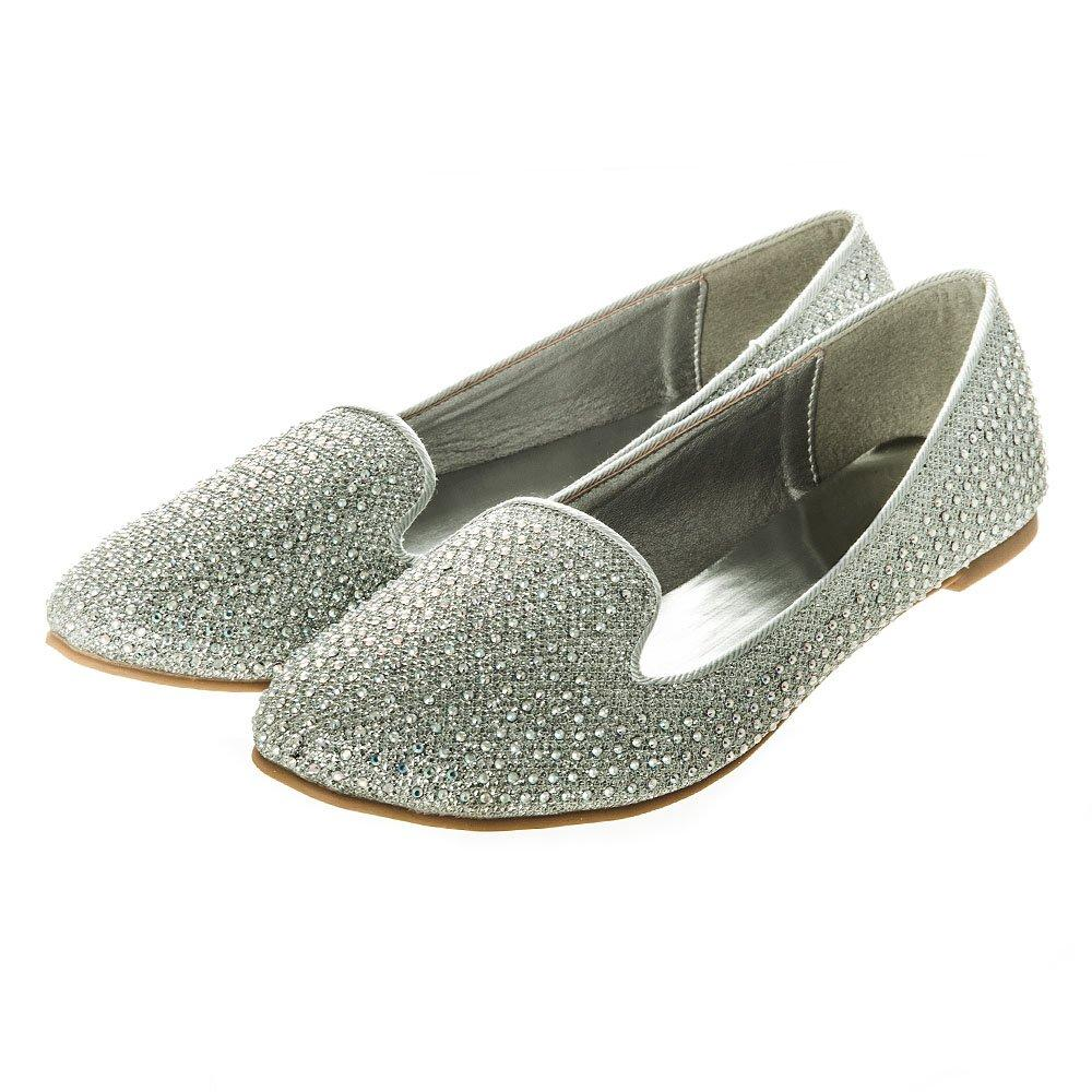 Flat Slip-on Loafer style Shoe With Pointed Toe