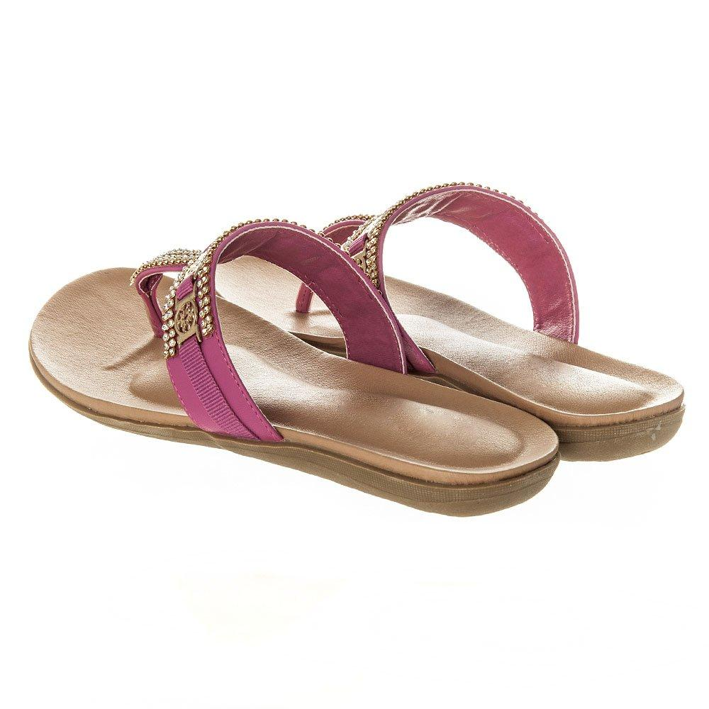 Flat Toe Post  Sandal With T-Bar