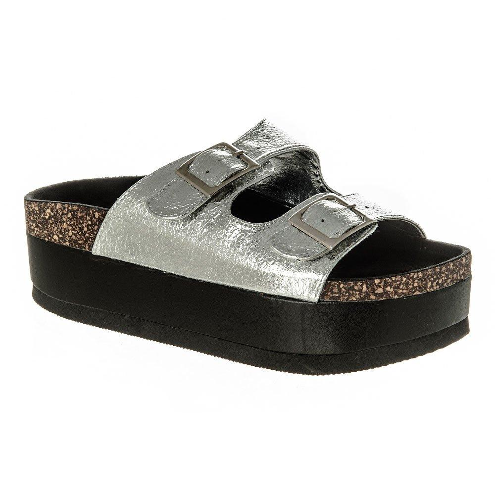 Birkenstock Style Mule Lowform with Two Strapes