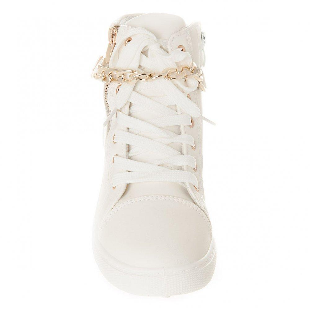 HI-TOP LACE TRAINER