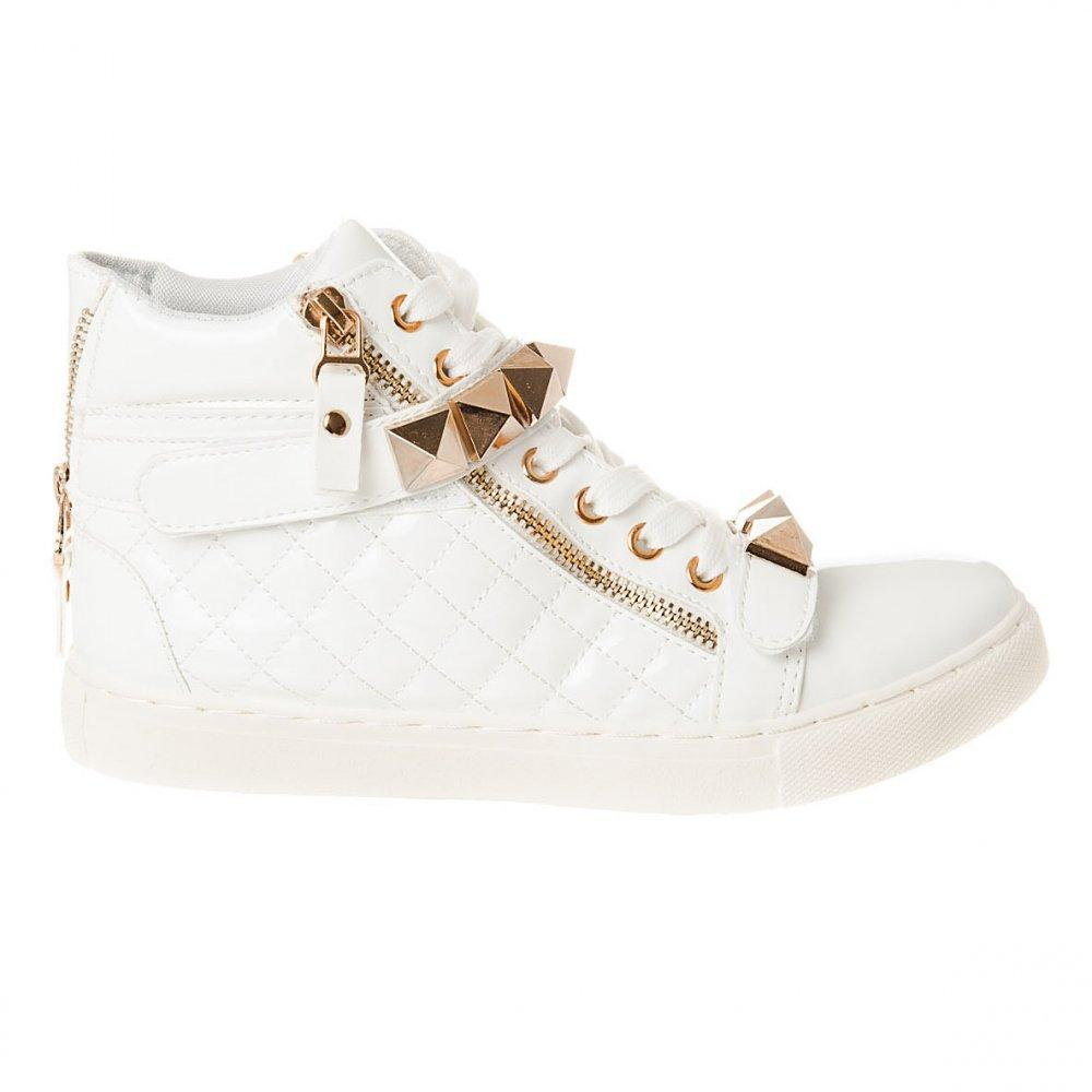 HIGH WEDGE HI-TOP TRAINER