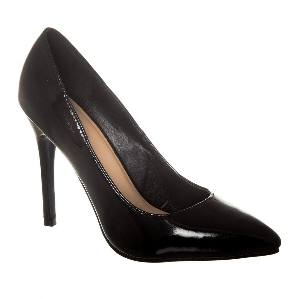 High Stiletto Heel Pointed Toe Court Shoe
