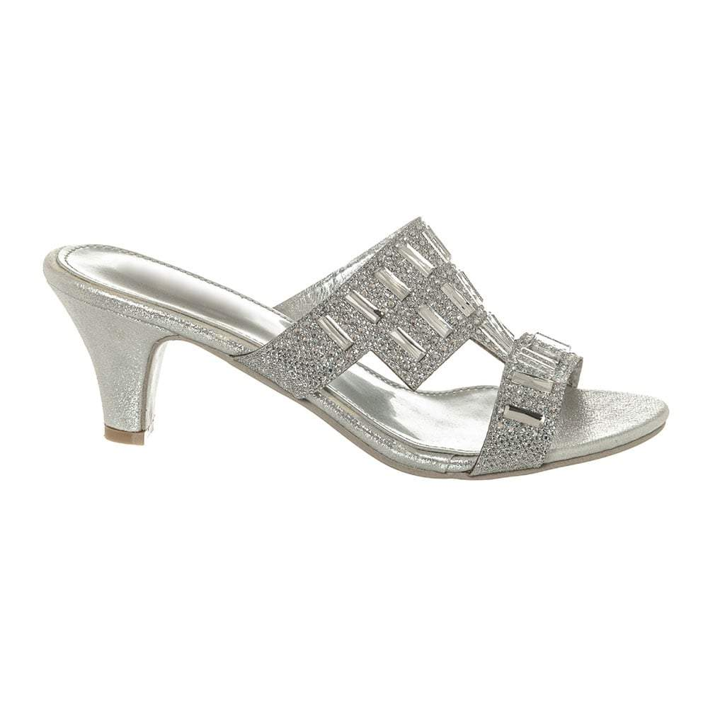LOW MULE OPEN TOE SANDAL