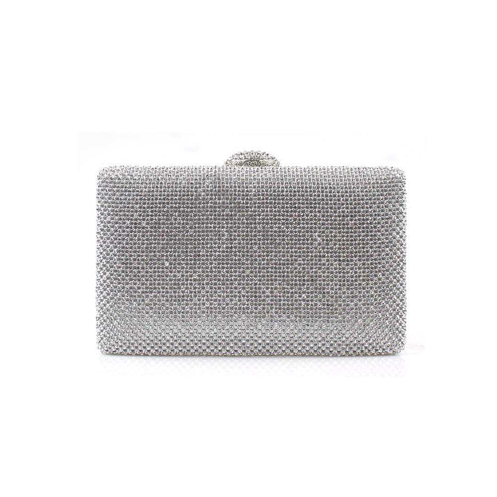 Iridessa Diamante Clutch Bag