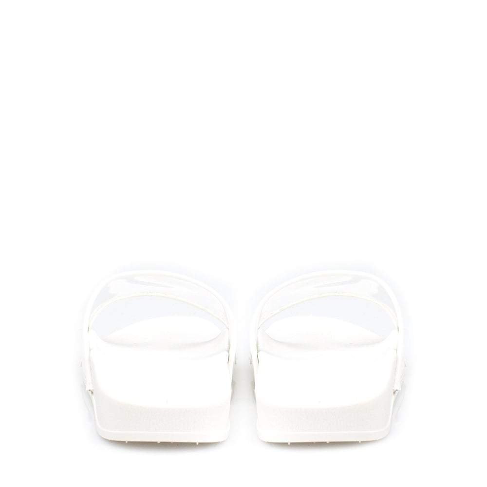 Avery Clear Perspex Open Toe Slider