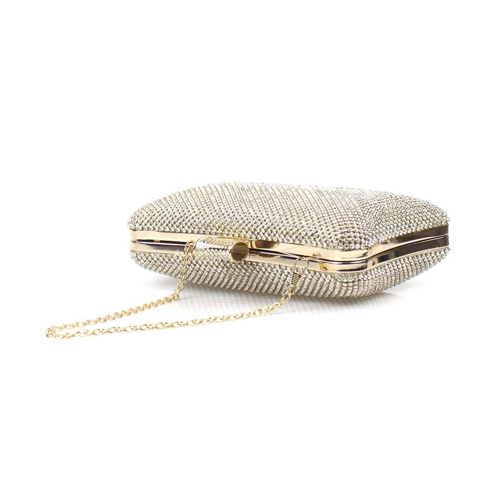 Luna Diamante Clutch Bag