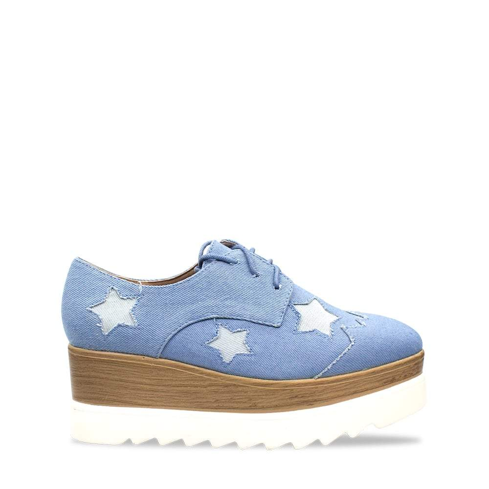 Darla Chunky Sole Trainer With Stars