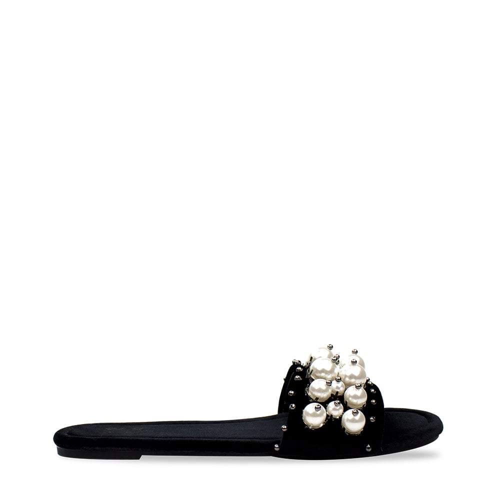 Alison Slip On Mule With Pearls