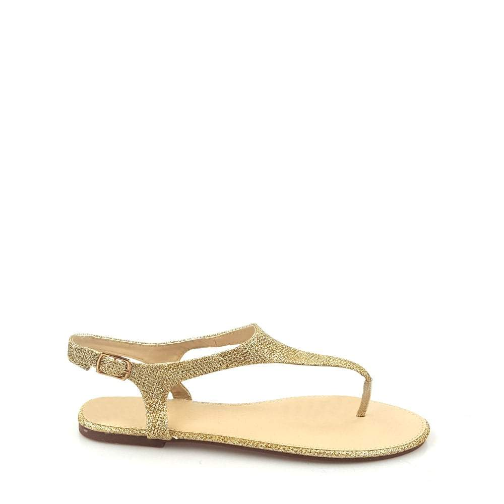 Sammy Sling Back Toe Post Diamante Sandal