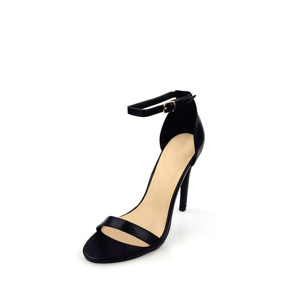 Zela High Heel Anklestrap Open Toe
