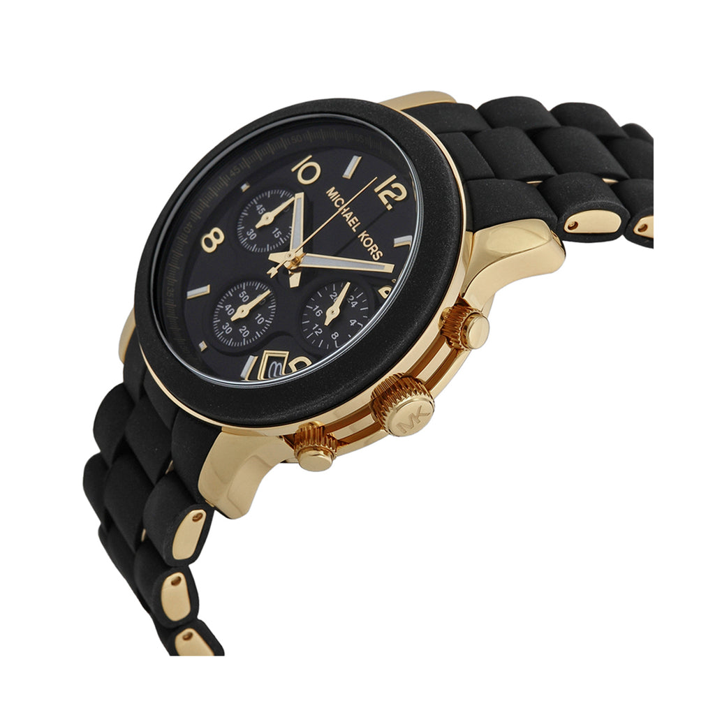 Michael Kors MK5191 Runway Black Catwalk Ladies' Chronograph 38 mm Quartz Watch