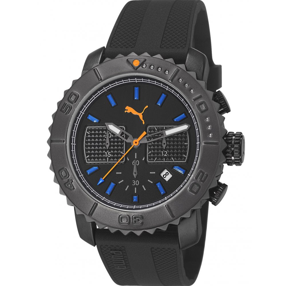 Puma PU103561003 Gallant Men's Chronograph Black Dial Quartz Watch
