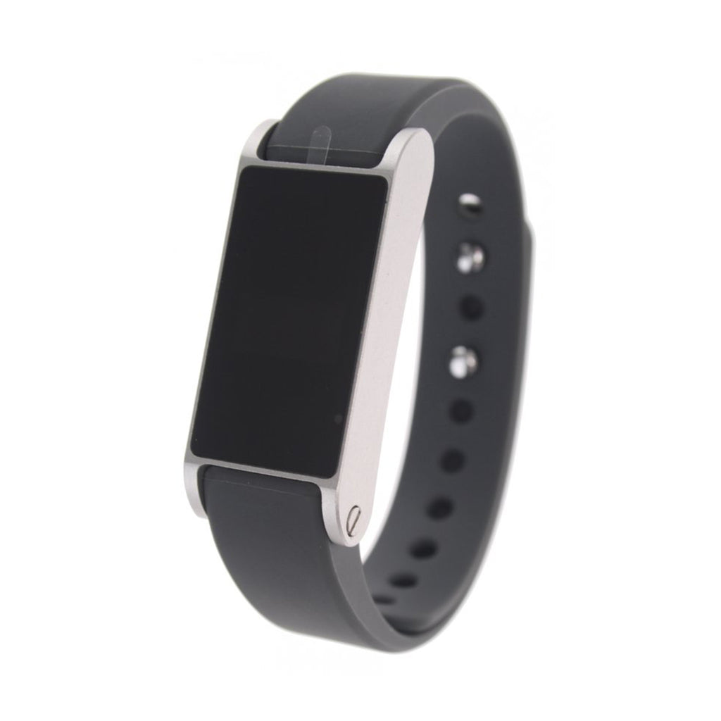 Op3n Dott Fitband Graphite Bluetooth Tracking Activity SmartWatch