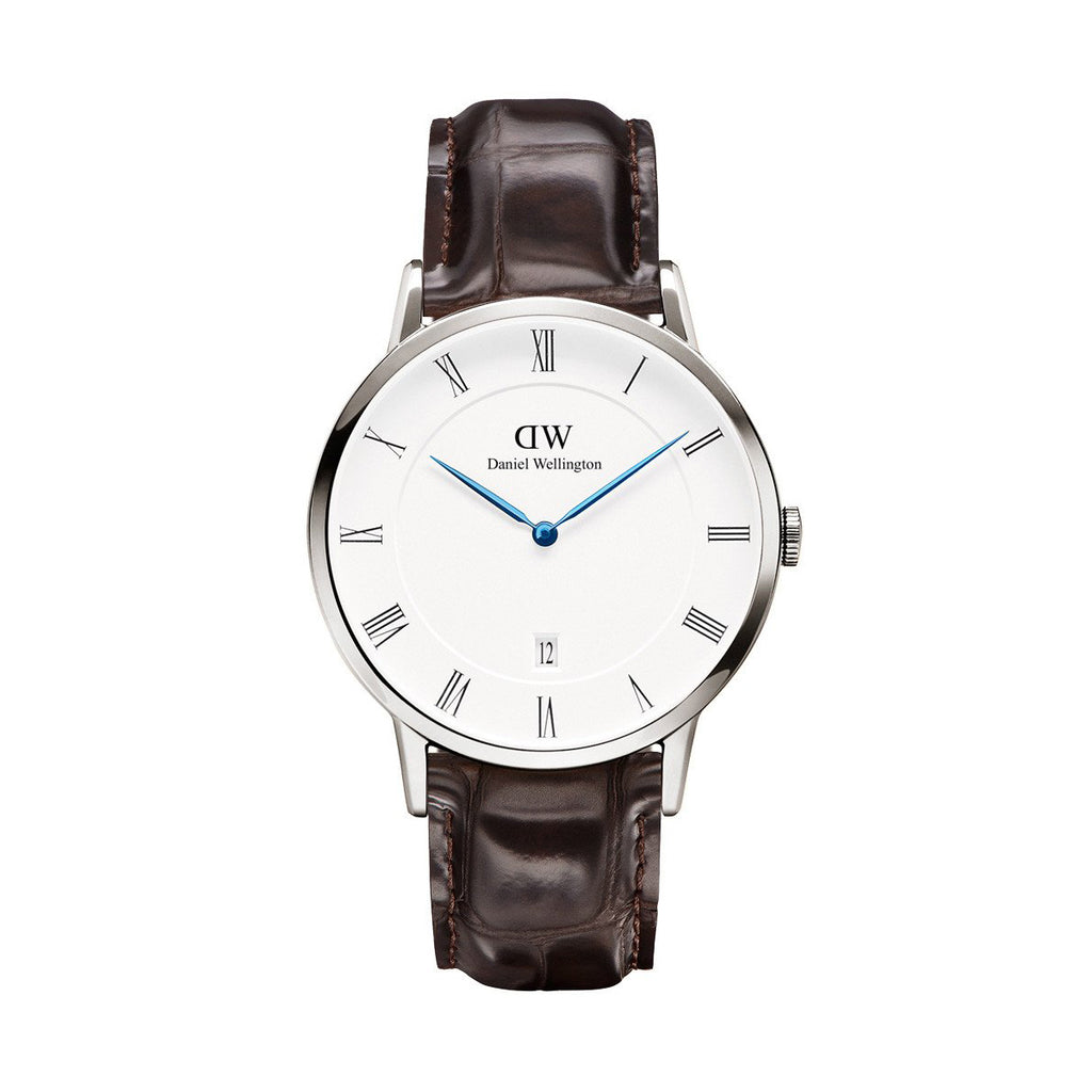 Daniel Wellington 1122DW Dapper York White Dial Men's 38 mm Stainless Steel Watch