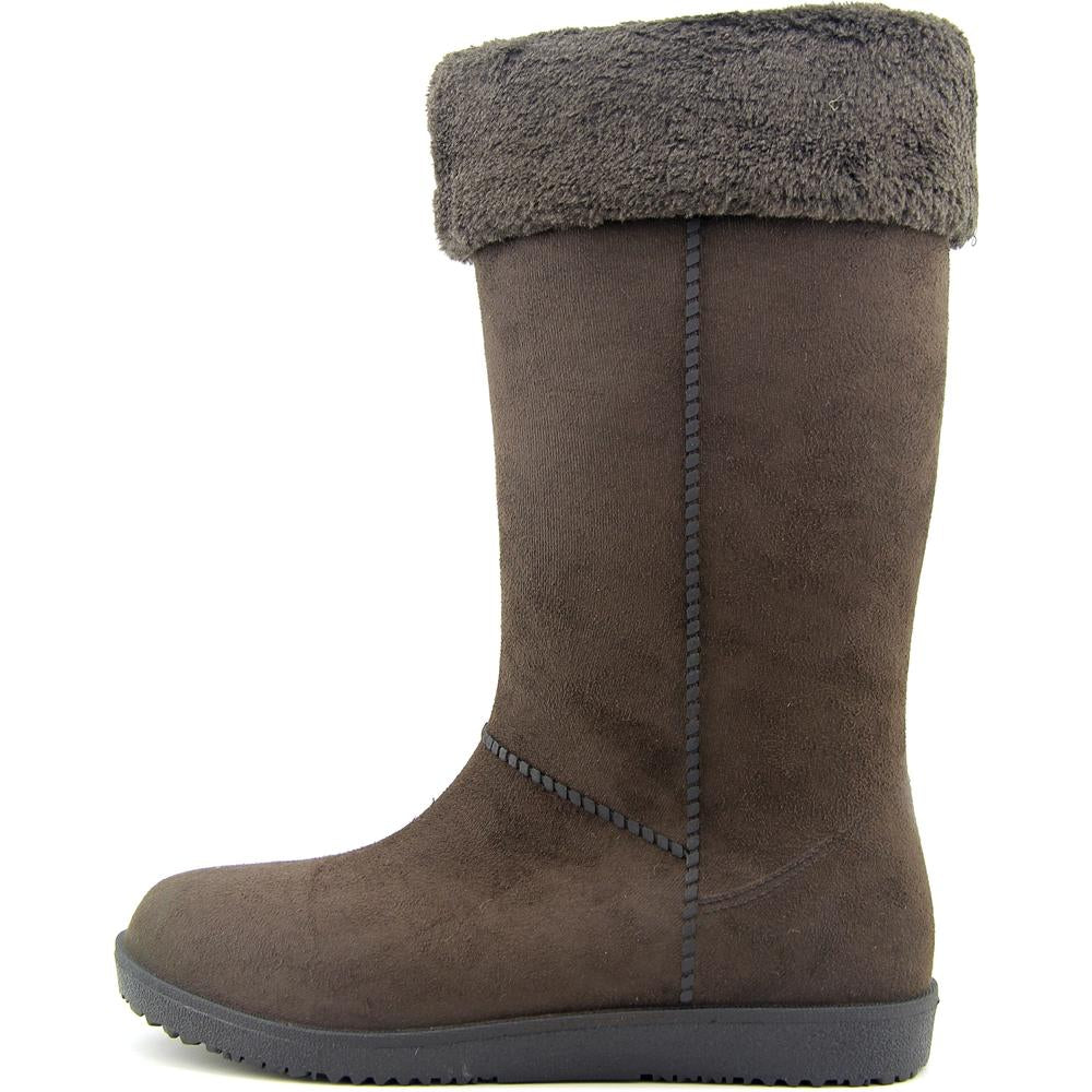 Electric Karma Dakota Chocolate Women Round Toe Synthetic Winter Boot