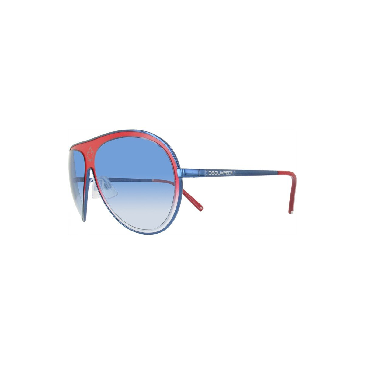 0124713659dc Dsquared2 DQ0104/S Unisex Blue and Red Sunglasses - MIMO DEALS