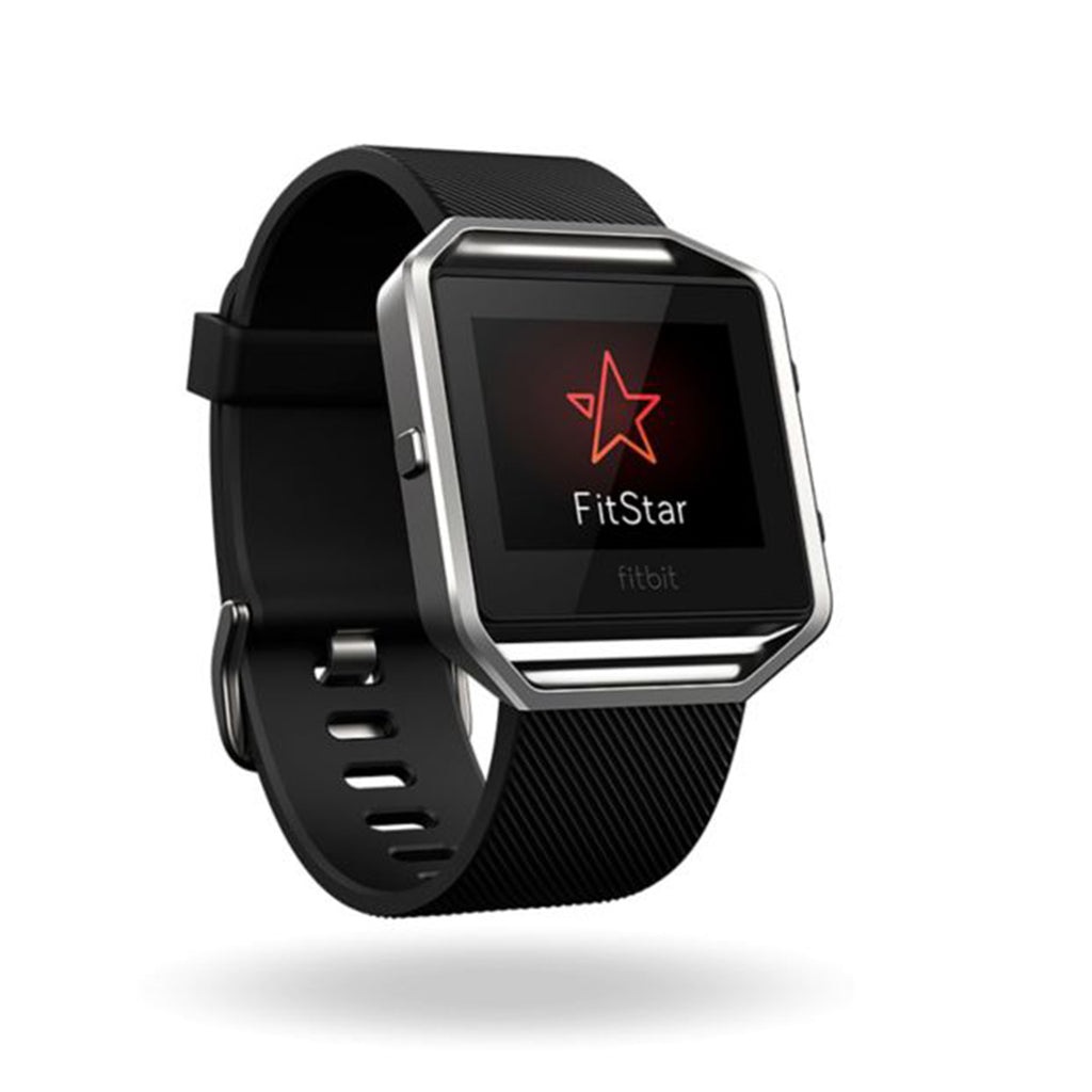 Fitbit Blaze Black / Silver iPhone, Android, Windows, Mac+PC Fitness Super Watch