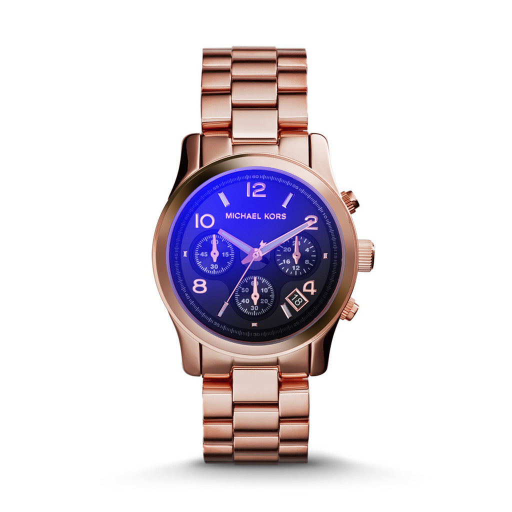 Michael Kors Rose Gold-Tone Runway Watch MK5940