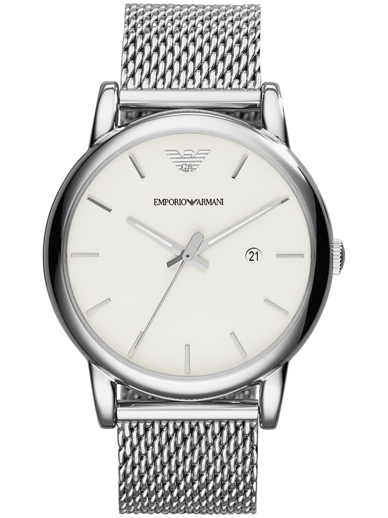Emporio Armani AR1812 Men's Classic Stainless Steel Quartz Watch