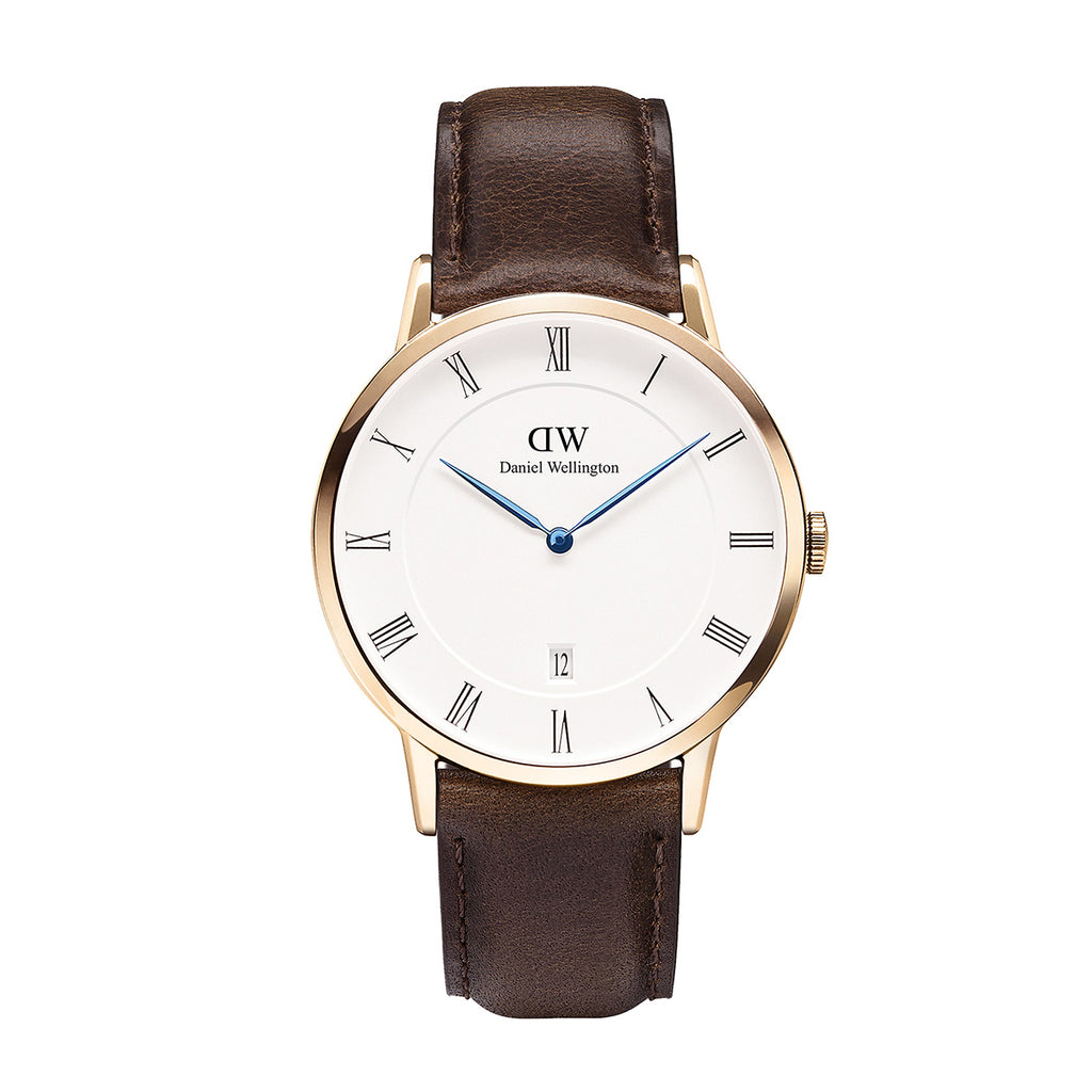 Daniel Wellington 1103DW Dapper Bristol Men's Rose Case 38 mm Watch