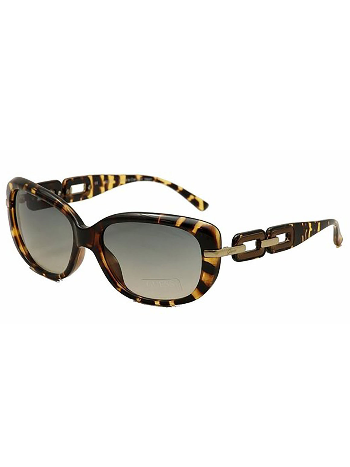 Guess Ladies Tortoise Brown Sunglasses GU7273 59S57