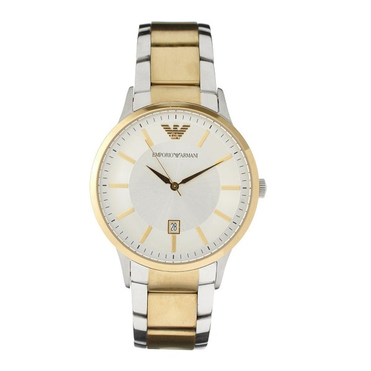 Emporio Armani AR2449 Men's Gold Tone Strap Watch