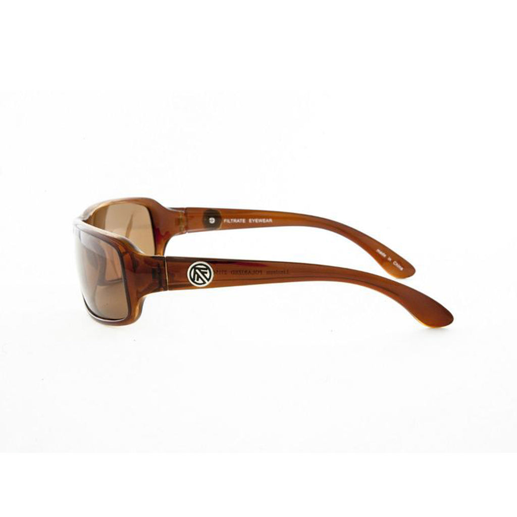 Filtrate Linoleum Chocolate Polarized Unisex Sunglasses