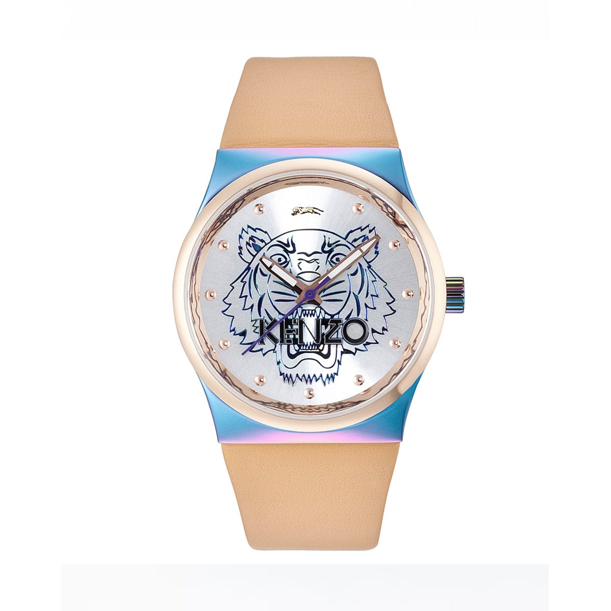 ae837fa9 Kenzo K0022005 Beige Leather Strap Ladies Watch - MIMO DEALS