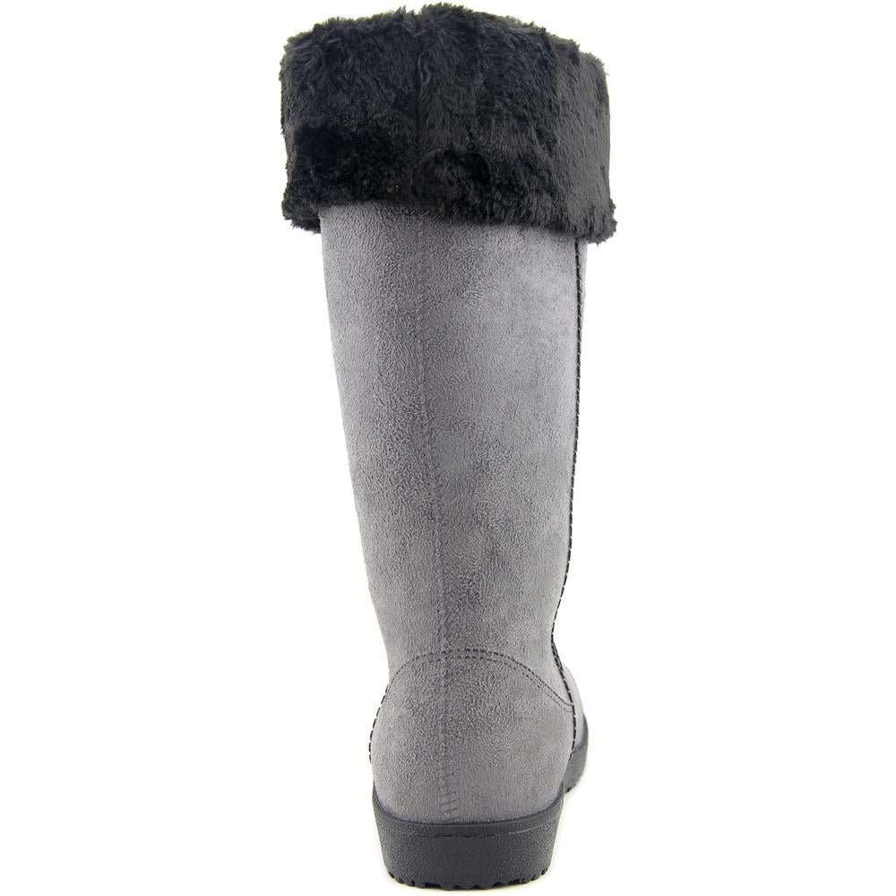 Electric Karma Dakota Pewter Women Round Toe Synthetic Winter Boot