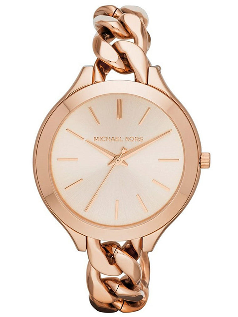Michael Kors MK3223 Slim Runway Twist Rose Gold Watch