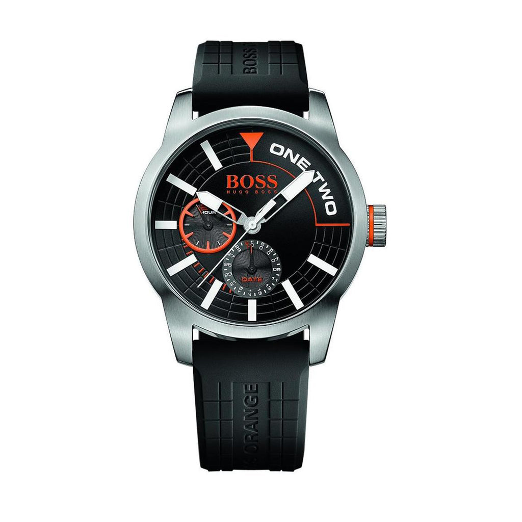 Hugo Boss Orange 1513305 Men's Black Silicone Watch