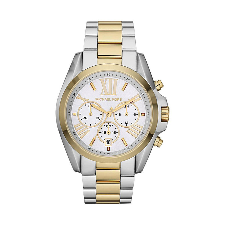 Michael Kors MK5627 Bradshaw Ladies Silver/Gold Watch