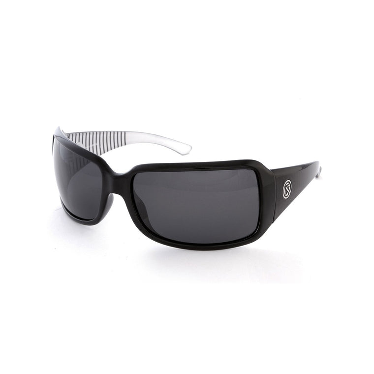 FILTRATE MOTEL BLACK CELL POLARIZED UNISEX SUNGLASSES