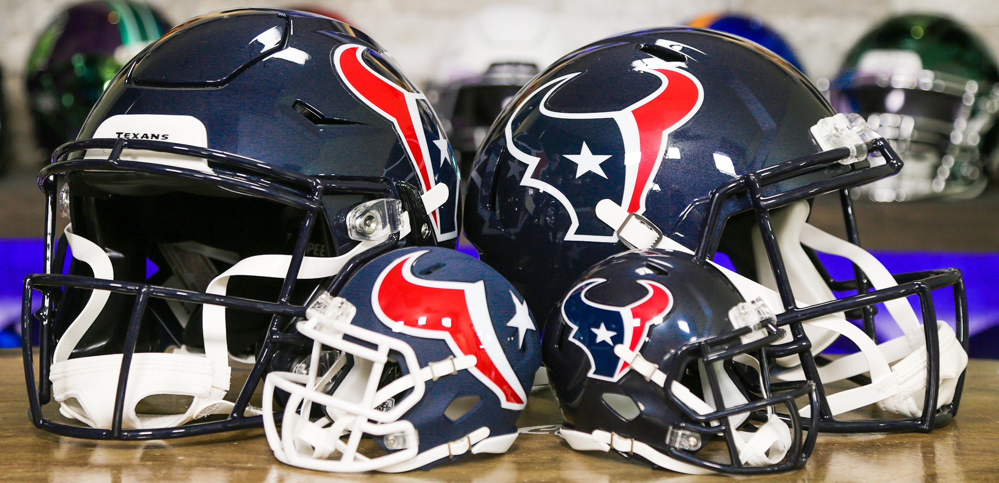 Houston Texans Helmets Wide
