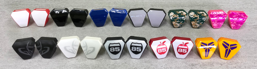 Under Armour Visor Clip Decals