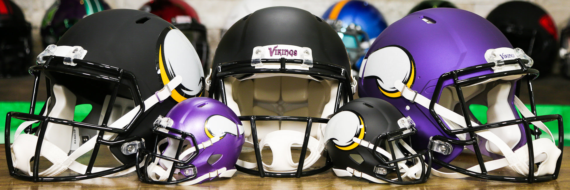 Minnesota Vikings Helmets Wide