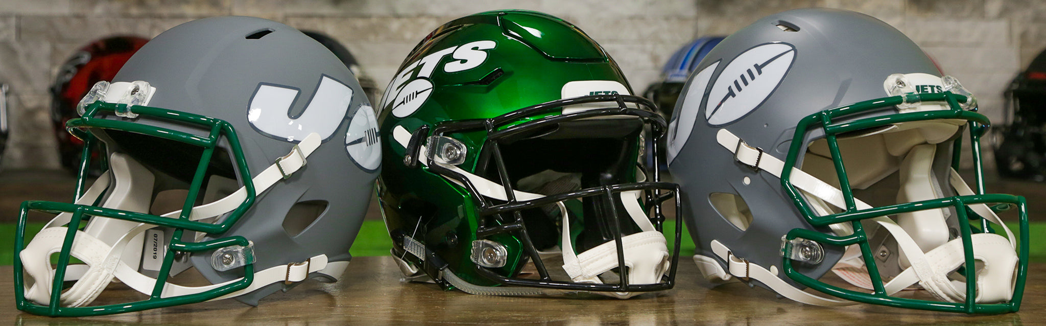 New York Jets Helmets Wide