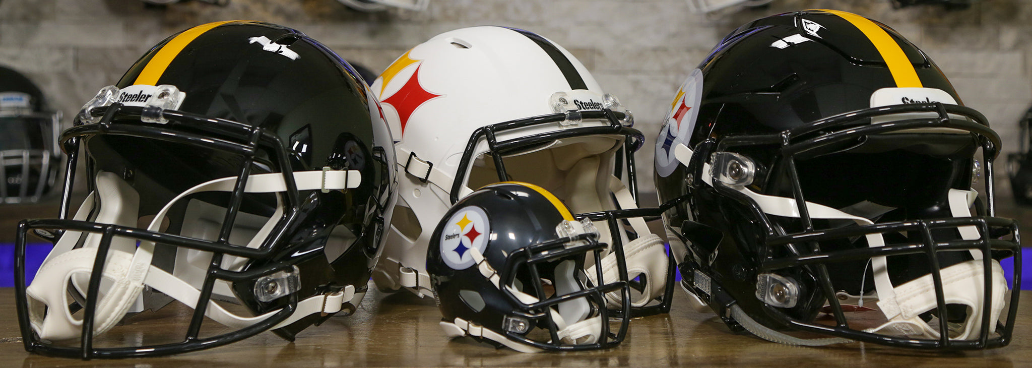 Pittsburg Steelers Helmets Wide