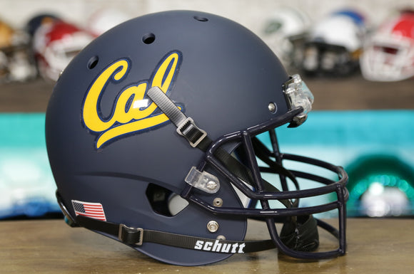 California Golden Bears Schutt XP Replica Helmet - Matte Navy