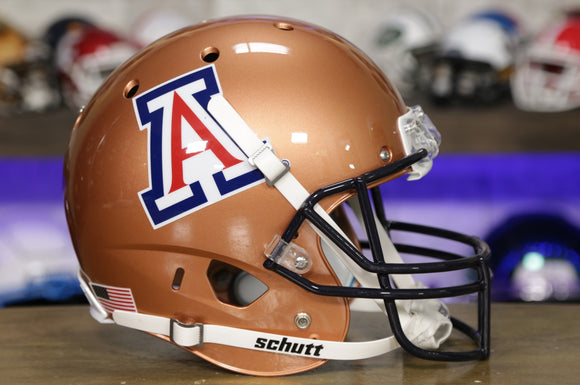 Arizona Wildcats Schutt XP Replica Helmet - Copper