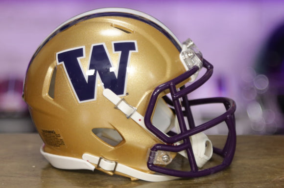 Washington Huskies Riddell Speed Mini Helmet
