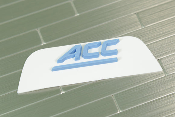 North Carolina Tar Heels Front 3D Bumper