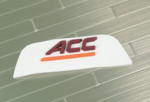 Virginia Tech Hokies Front 3D Bumper