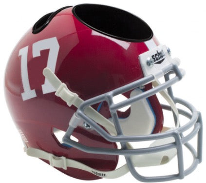 Alabama Crimson Tide Schutt XP Desk Caddie Helmet